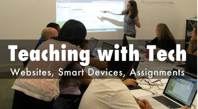 Dr. Beard Leads a Workshop for Teaching with Tech at Kennesaw State University